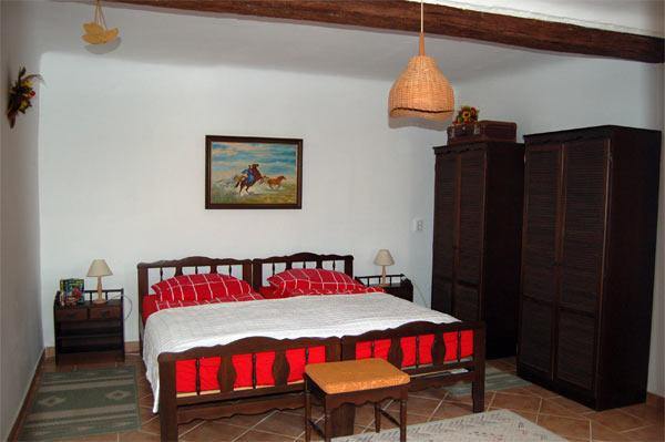 schlafzimmer 1 ferienh user fischer. Black Bedroom Furniture Sets. Home Design Ideas